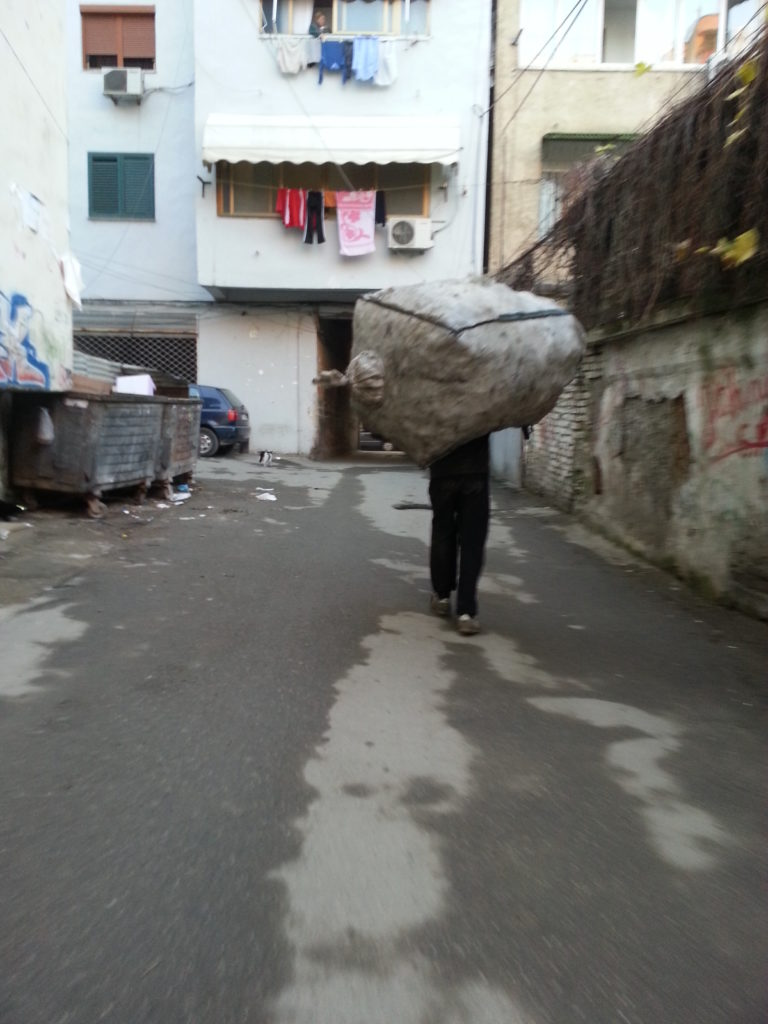 Life is harder when you have to carry a big load!