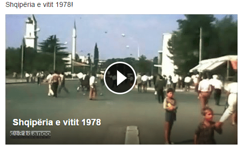 Rare video footage of Albania in 1978