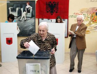 Albanian voters