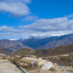 On the way to the village of Shen Gjergj