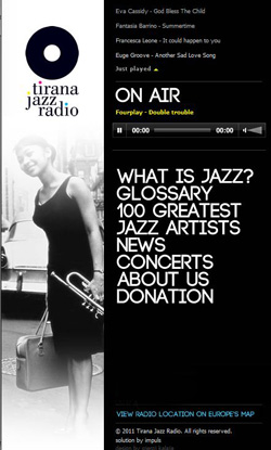 Tirana Jazz Radio online (photo)
