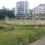 "Italian pasta near roman ruins in Durres (at ""gropa"")"