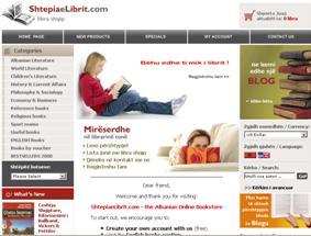 Albanian Online Bookstore – ShtepiaeLibrit.com
