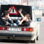 Cabriole Mercedes – seen only in Albania!