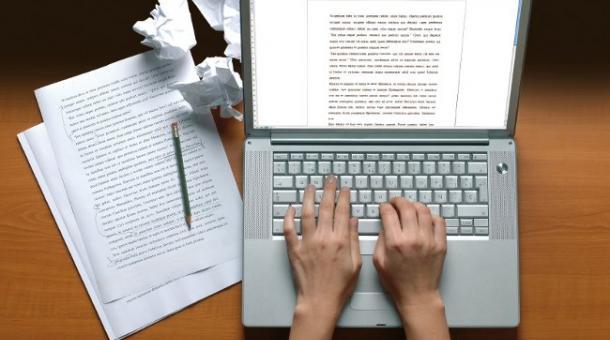 type an essay