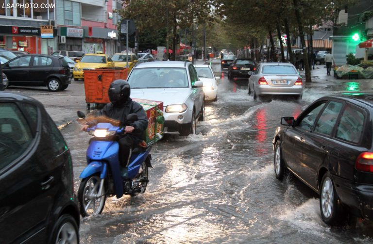 Heavy rains cause repeated flooding all over Albania